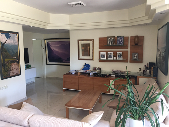 4-room apartment in Talbieh, Marcus Street
